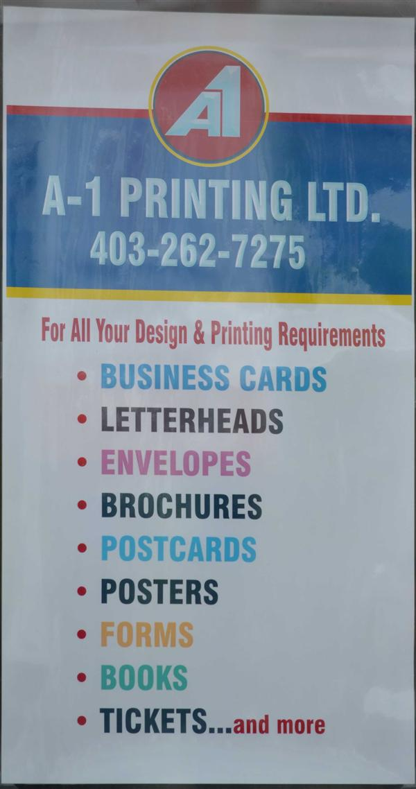 A1 PRINTING 4032627275, Calgary, Canada, Yellow Pages, Business